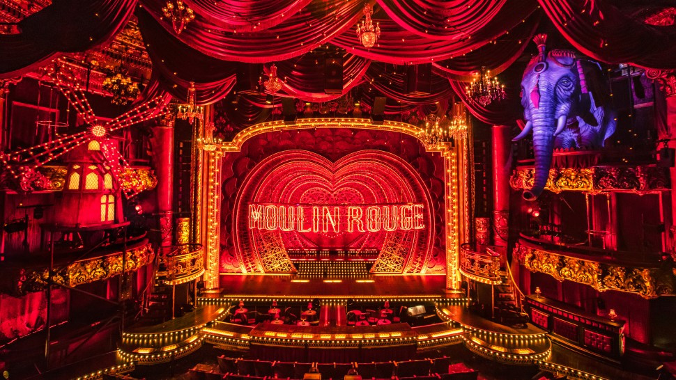 Moulin Rouge Stage