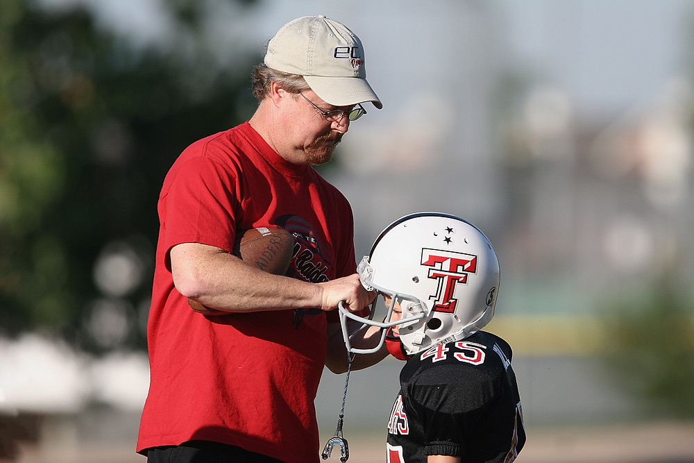 Coach and Kid