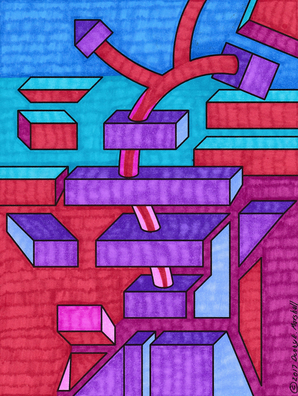 Cube Steps