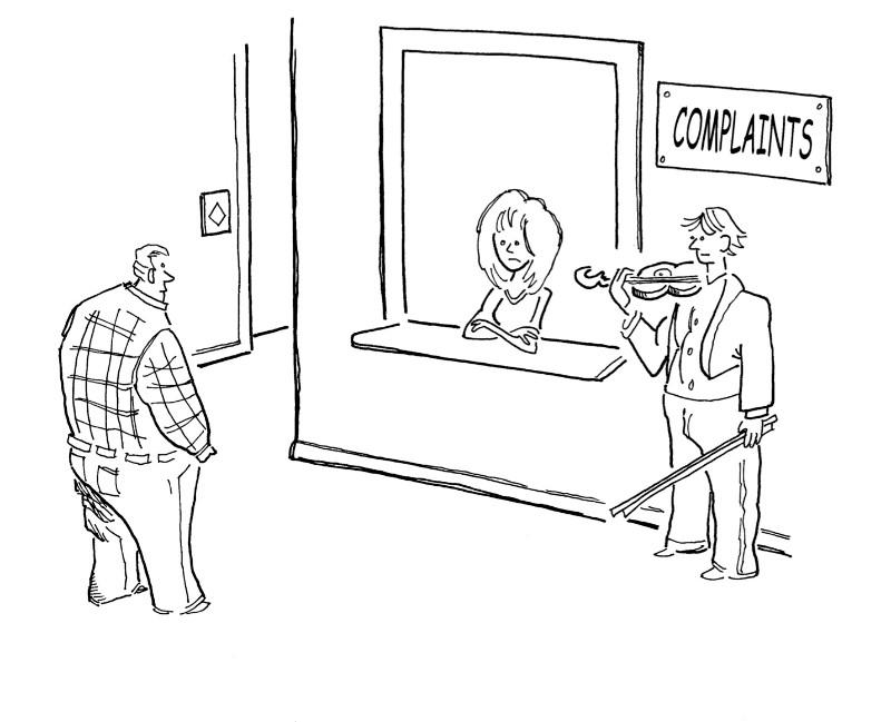 Violin Complaints