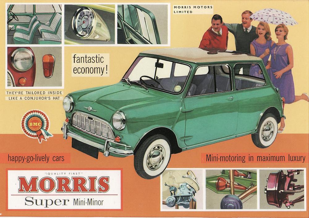 Vintage Ad Morris