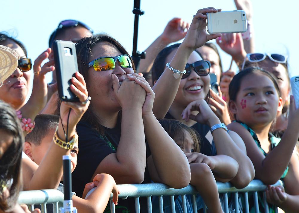 Smartphones at a Concert