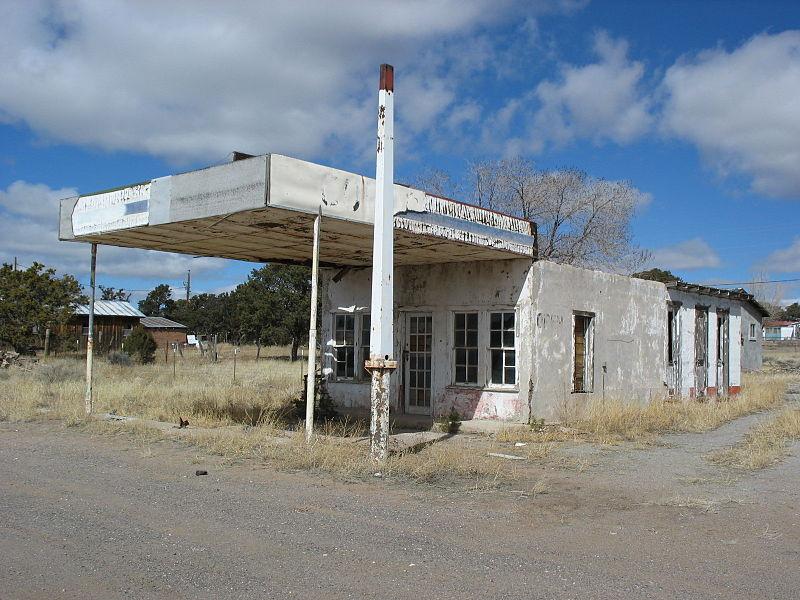 Gas Station Abandoned