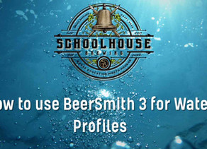 Using Beersmith 3 for Easy Water Adjustments