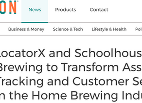LocatorX and Schoolhouse Brewing to Transform Asset Tracking