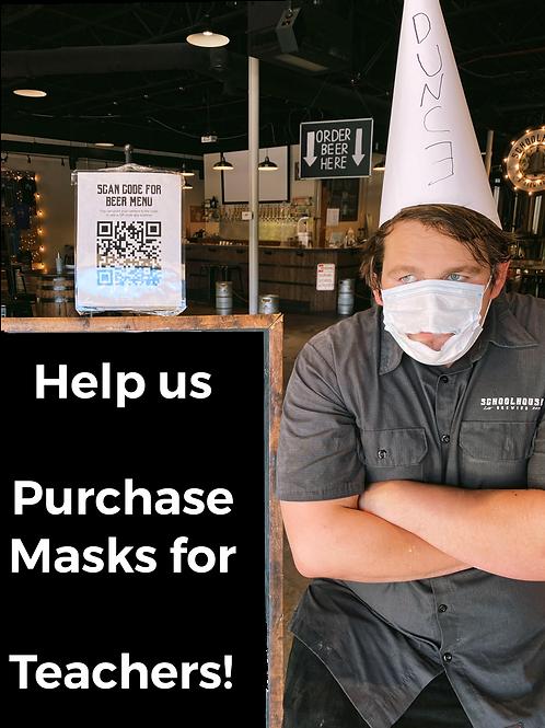 Masks for Teachers Fundraiser