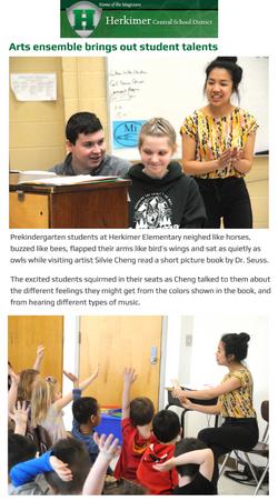 Arts ensemble brings out talents