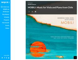 WQXR Features: Mobili