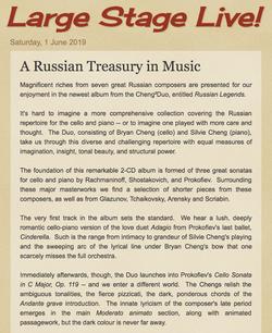 A Russian Treasury in Music