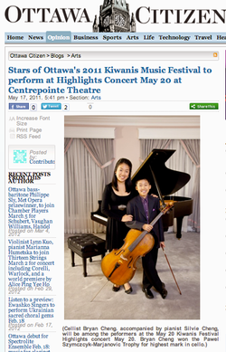 Stars of Ottawa's 2011 KMF