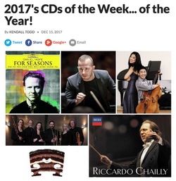 2017's CDs of the Year!