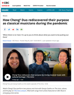 How Cheng² Duo rediscovered their purpose as classical musicians during the pandemic