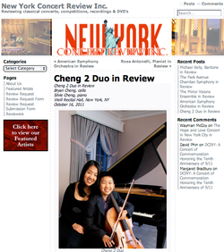 Cheng² Duo in Review