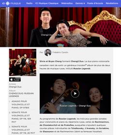 Cheng² Duo: la Russie, passionnément