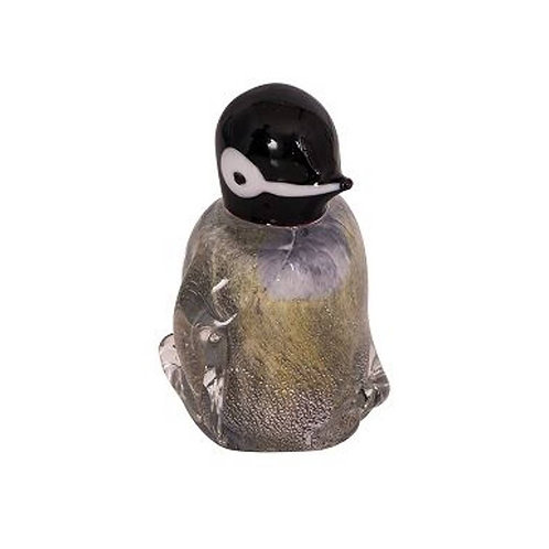 COLOURED GLASS PENGUIN CHICK