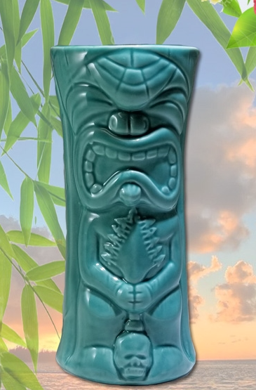 LIL KU-KAILI-MOKU TIKI MUG (EMERALD GREEN) (NO LONGER PRODUCED)
