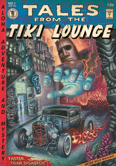 TALES FROM THE TIKI LOUNGE #1 - BRAD PARKER