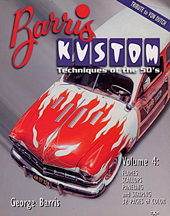 BARRIS KUSTOM TECHNIQUES OF THE 50'S V4