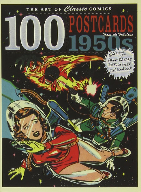 100 POSTCARDS FROM THE 1950'S