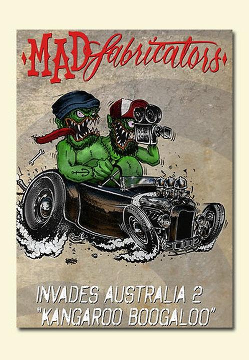 MAD FABRICATORS INVADES AUSTRALIA 2