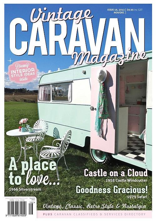 VINTAGE CARAVAN - ISSUE 16