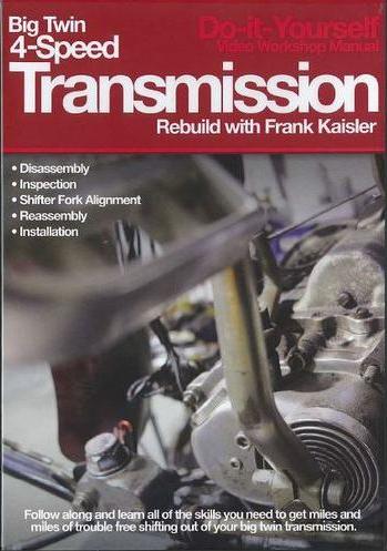 BIG TWIN 4-SPEED TRANSMISSION REBUILD