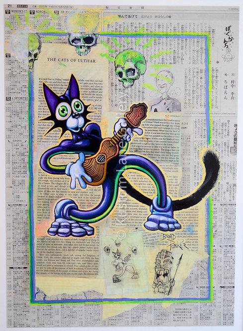 SCAREDY CAT - BRAD PARKER