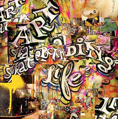 ART, SKATEBOARDING AND LIFE