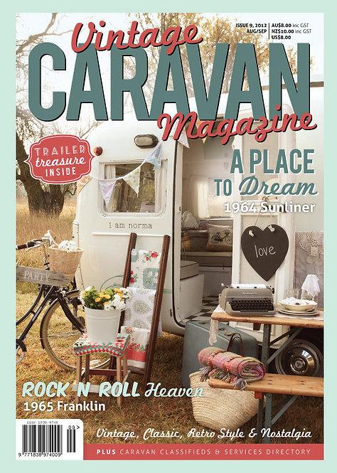 VINTAGE CARAVAN - ISSUE 9