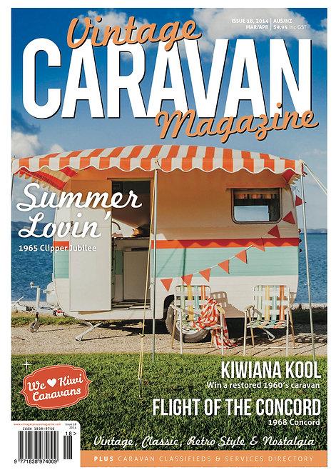 VINTAGE CARAVAN - ISSUE 18