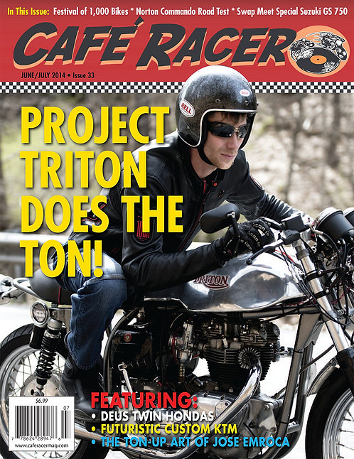 CAFE RACER - ISSUE 33