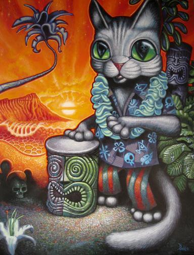 BONGO CAT - BRAD PARKER