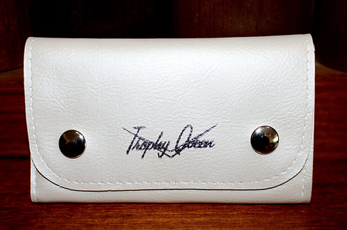 TRUCKER WALLET - PEARL WHITE MATTE