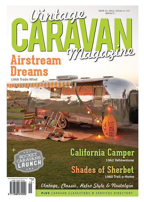 VINTAGE CARAVAN - ISSUE 15
