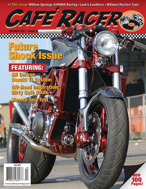 CAFE RACER - ISSUE 13