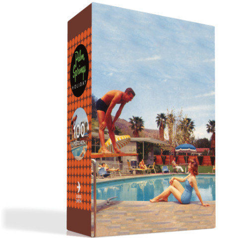 PALM SPRINGS HOLIDAY POSTCARDS