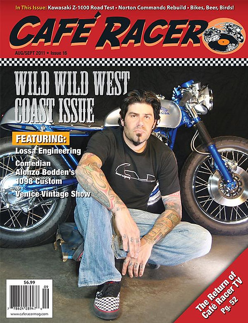 CAFE RACER - ISSUE 16
