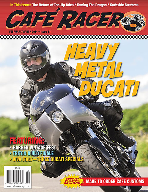 CAFE RACER - ISSUE 31