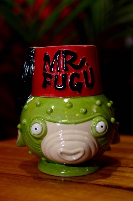 MR. FUGU PUFFERFISH MUG (NO LONGER PRODUCED)