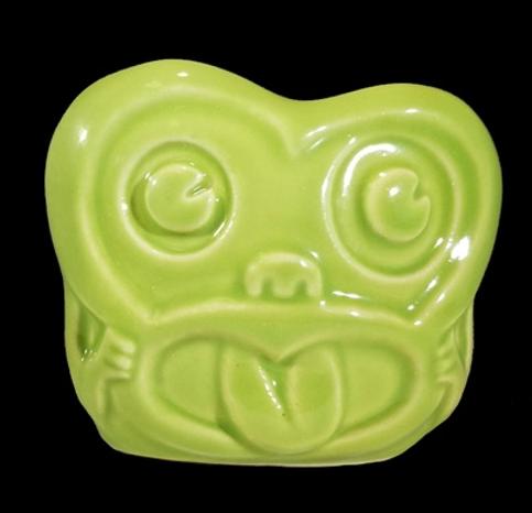 MINKY TIKI MUG - GREEN
