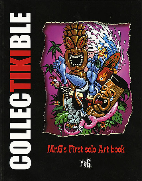 COLLECTIKIBLE: MR G'S FIRST SOLO ART BOOK