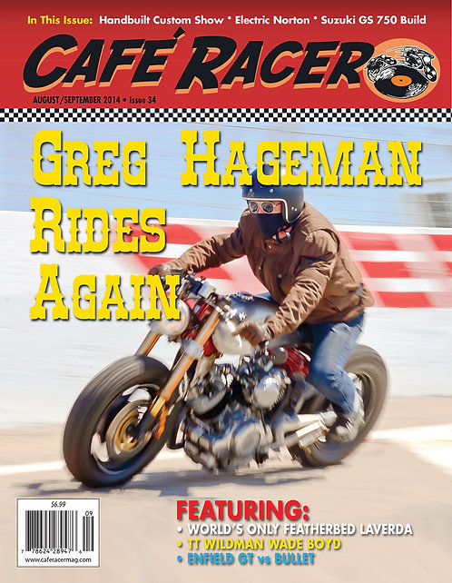 CAFE RACER - ISSUE 34