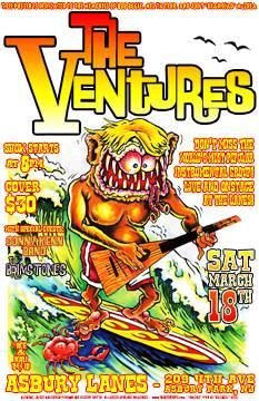 THE VENTURES - JOHNNY ACE & KALI VERRA
