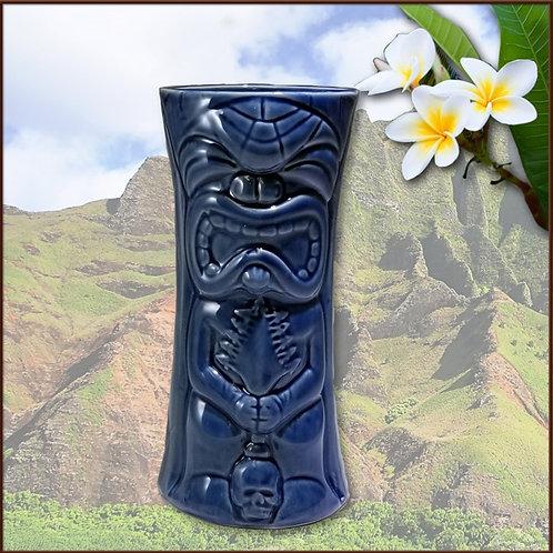 LIL KU-KAILI-MOKU TIKI MUG (SAPPHIRE BLUE) (NO LONGER PRODUCED)