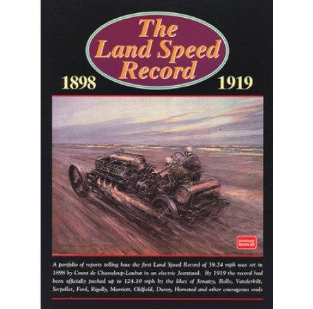 LAND SPEED RECORD 1898-1919