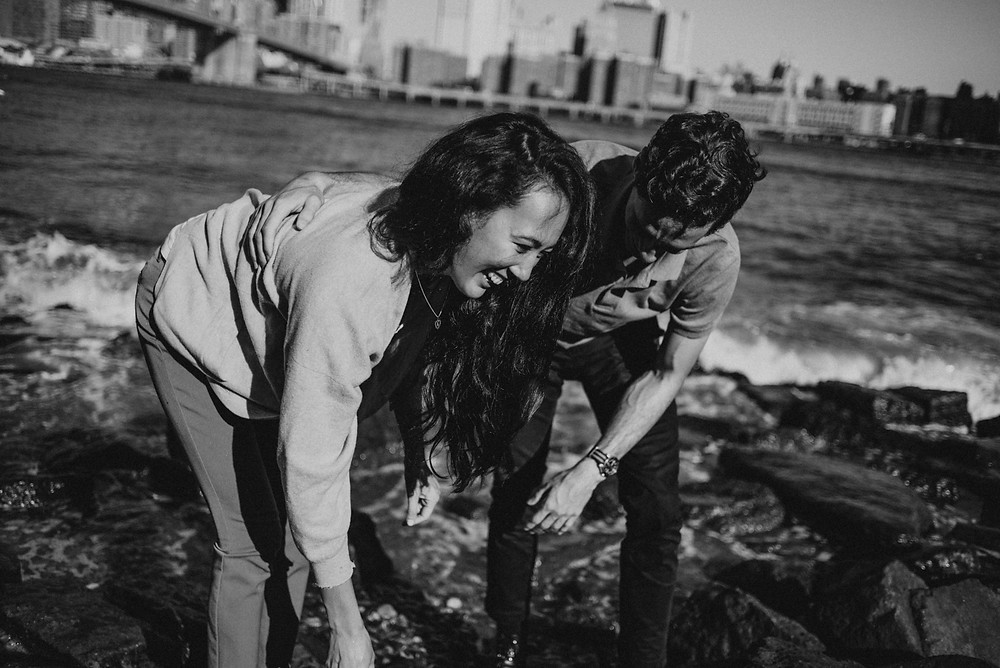 Laid Back couple's session in NYC