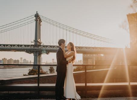 Sherry & Anthony // Engagement Session in NYC // Atlanta & Destination Wedding Photographer