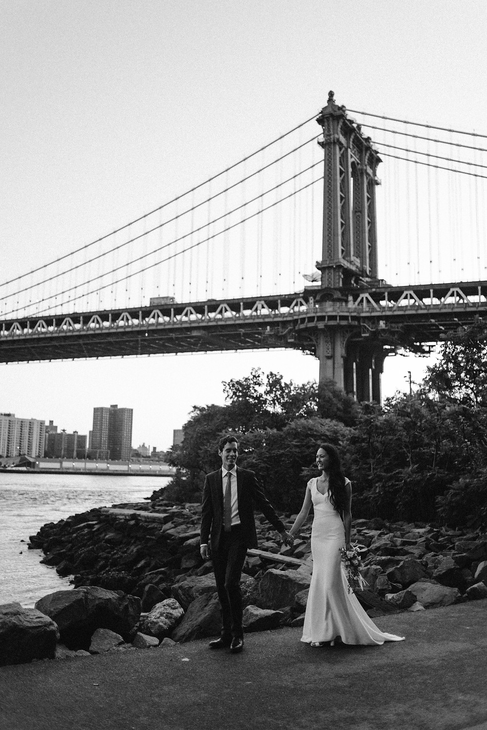 Couple's photography session in Nyc