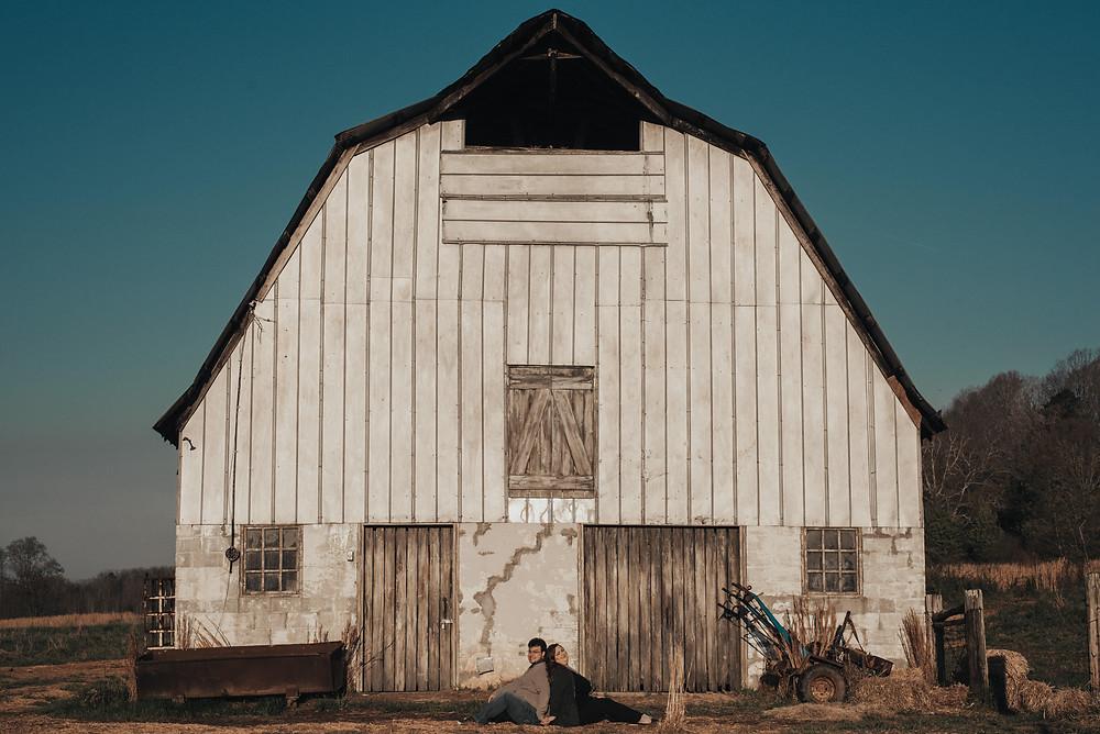 Rustic barn. Engagement Session. Arabia Mountain. Atlanta. Georgia. Wedding Photographer