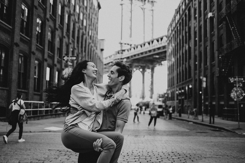 Engagement session in NY